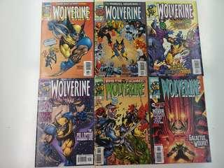 Wolverine (1988 1st Series) The Great Escape Comics Set