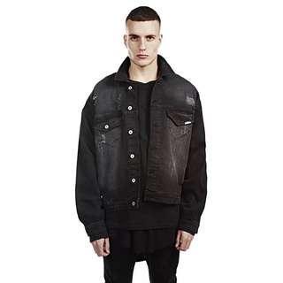 🇺🇸歐美Streetwear新款破洞牛仔外套 (2色選擇)