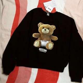 4500⬇️3900‼️Moschino 尿布熊熊衛衣