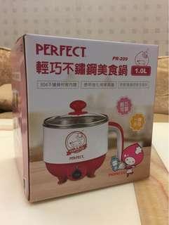 🚚 🎈降價《PERFECT》輕巧不鏽鋼美食鍋 1.0L