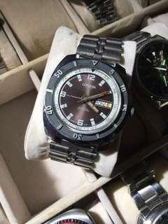 Vintage cordura diver automatic watch