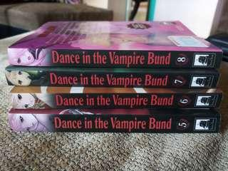 Dance in the Vampire Band Vol 5,6,7 and 8