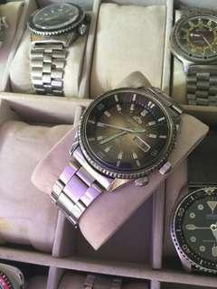 Vintage orient king diver automatic watch