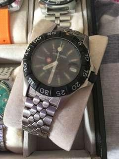 Vintage Swiss army automatic military watch