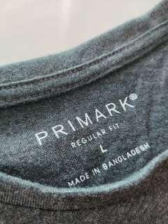 PRIMARK GREY T SHIRT