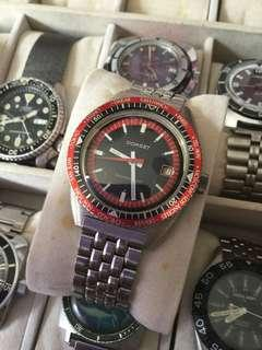 Vintage dorset world time winding watch