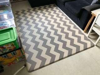 Parklon Playmat - medium size (chevron/urban zigzag)