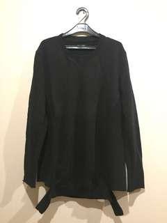 Zara Streetstyle Black Sweater