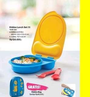 Bekal anak tupperware free tas