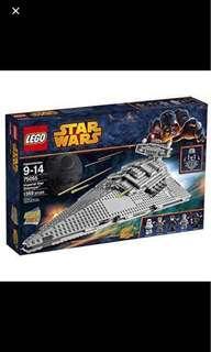 Lego 75055 Star Wars star Destroyer (Discontinued Set)