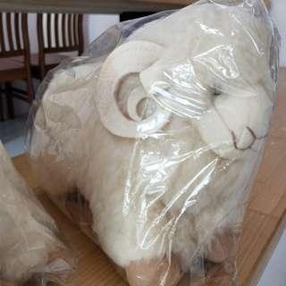 🚚 《收藏》澳洲帶回 真羊毛玩偶(一對)