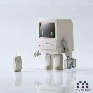 全新香港設計師玩具Classicbot電腦人仔Mac機