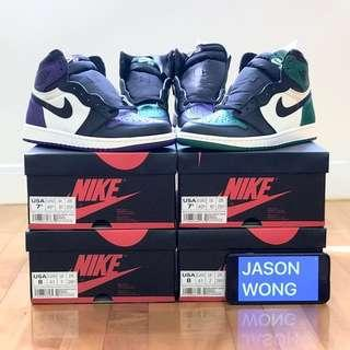 Air Jordan 1 Court Purple US8