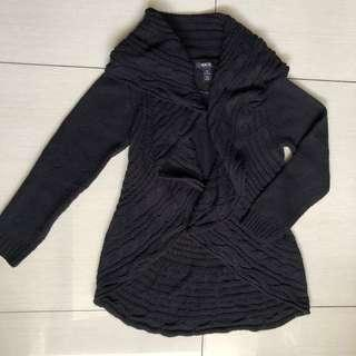Style & Co. black knitted cardigan/sweater
