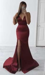 Noozie boutique red gown
