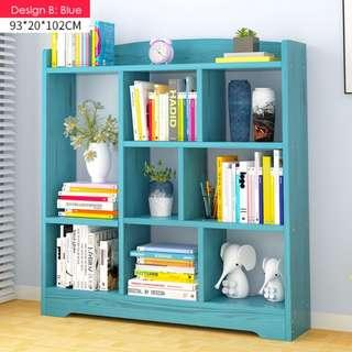 Simple Book Shelf (4 colors available)❤️