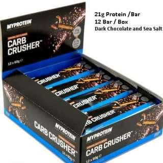 Carb Crusher Meal Replacement Protein bar Whey Myprotein [ Listed : Jan 2019 ]
