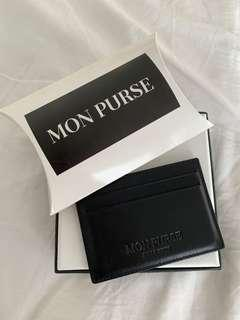 Mon Purse Leather Card Holder 5CC