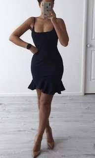 Babyboo fashion navy dress