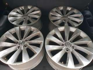 Vw stock rims for sale