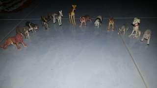 Various Kind of Animals Toy