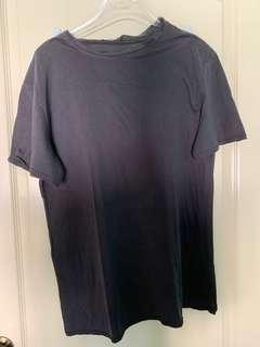 T by Alexander Wang Distressed Gray T-Shirt