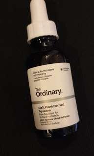 100% plant-derived squalane