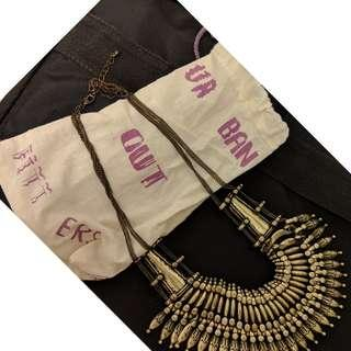 Urban Outfitters statement necklace
