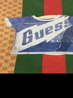 Kaos anak guess original
