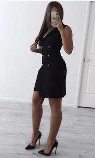 Lipsy London black blazer dress