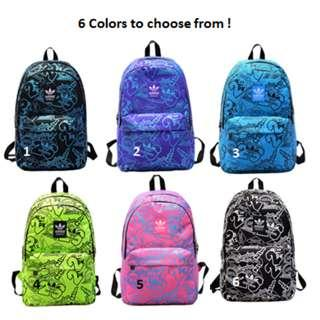 Instock Adidas School Backpack with 6 colors