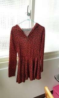🚚 豹紋洋裝