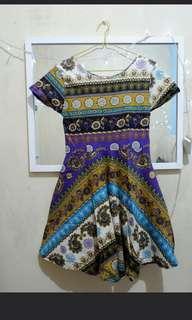 Dress batik #bersihbersih