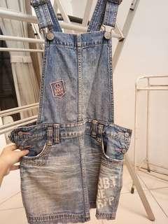 Overall Jeans #bersihbersih