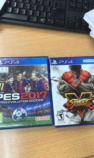 PS4 Pes17+Sfv (Combo)