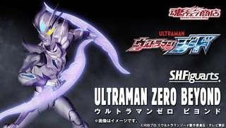 全新日版啡盒未開SHF 咸蛋超人Ultraman Zero Beyond , 盒正常