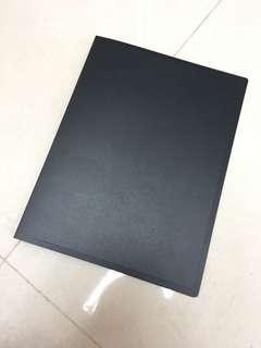 黑色A4膠 folder