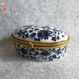 Antique Ceramic Box