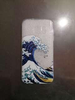 The Great Wave Clear Phone Case for S7
