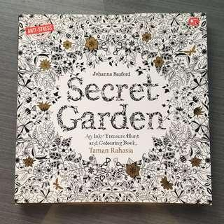 Artherapy - coloring books, secret garden series