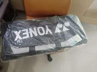 Yonex big multi purpose bag + free 2 badminton racket covers