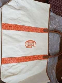 SALE!!! Goyard Reversible Pertuis GM Orange Tan from 6k