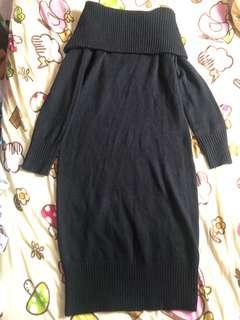 Uniqlo knit long dress