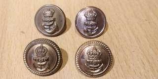 英國銅製海軍鈕