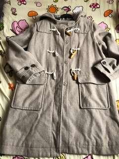 Japanese wool blend coat