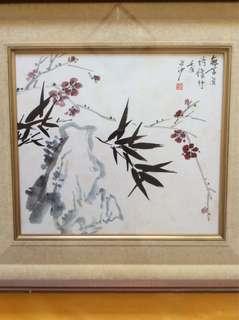 画家何明亮 Chinese painting