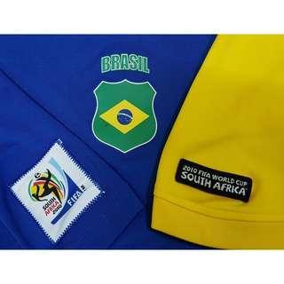 Brasil 2010 FIFA World Cup South Africa Tee, XXL. (Original)