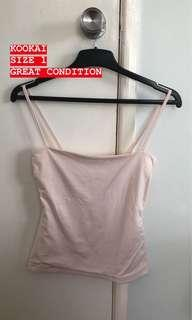 KOOKAI CARLO TOP (LIGHT PINK)