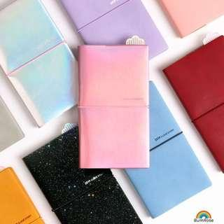 🚚 2019 Cloud Planner Leather Cover Notebook