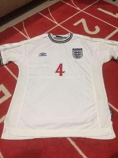 Authentic England Jersey 99/00
